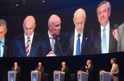 Debate or boring stand-up?